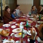 Ishkhan + Frau und Tochter, David + Frau