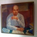 Lenin Porträt von Kuzma Petrov-Vodkin