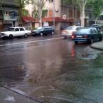 Terian str (mein Weg zum Büro) als Fluß