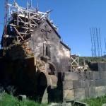 Kirchenrestaurierung mit Hilfe von Stahlbeton