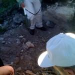 Knochen in Zarovar vergraben.