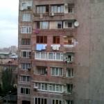Die Nachbarn gegenüber ... immer wachsam.