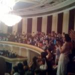 begeisterter Applaus nach dem Konzert