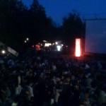 Das gespannte Publikum kurz vor Filmstart