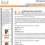 Wordpress & Drupal bei den Gewinnern der höchsten Preisgelder